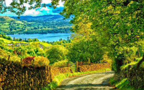 I still dream of Scotland with her clear air and sparkling lochs. Who wouldn't?