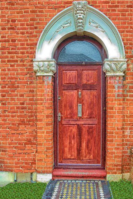 Our Front Door.